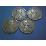 Centavos De Linconl,10,17,20,26,40,41,44,46,52d,cobre