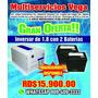 Inversor+ 2 Baterias Barato Y Pico Llama Ahora Pide La Tuya