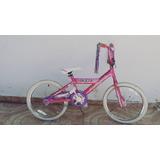Bicicleta Rallye-aro-20-rosada