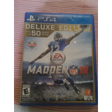 Madden Nfl 16 Para Ps4 Deluxe Edition