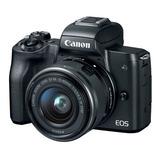 Canon Eos M50 Con Lente 15-45mm Stm Is Camara Digital Dslr