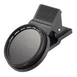 Lente 37mm Filtro Polarizador Para Cámara De Celulares  Cpl