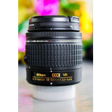 Lente Nikon 18-55 Vr Ultima Generacion.
