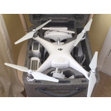 Dji Phantom 4 Quadcopter 4k Camera Drone Kit Grande Con 3 Ba