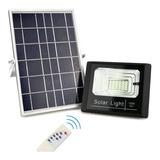 Reflectores Led Con Panel Solar Para Exterior Libre De Cable