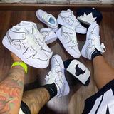 Tenis Nike Air Jordan Retro One 1 Leche Cortada 2020