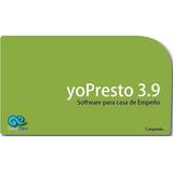Software Gestion De Perestamos Y Empeños Yopresto Standard