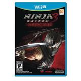Ninja Gaiden Razor S Edge Juego Para Nintendo Wii U