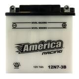Bateria Para Motor America Racing Mod 12n7-3b 12v 7ah Moto M