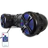 Altavoz Pyle 8 Para Exteriores Con Bluetooth Atv Utv | Resis