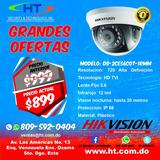 Cámara De Seguridad Domo Hikvision