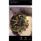 Reloj Diesel Mr.daddy Correa De Piel