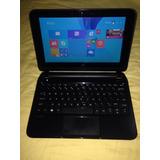 Mini Laptop Hp 10-e010nr Touch 10.1 320gb 1.0ghz 2gb Gris