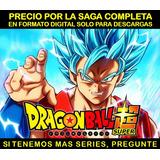 Serie Anime Dragon Ball Super Saga Completa Hd Envio Digital