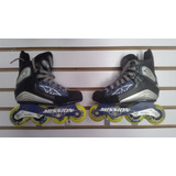 Patines Mission Size 1 Gomas Silicon Base Metal