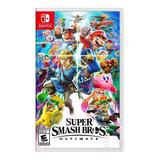 Super Smash Bros Ultimate Juego Para Nintendo Switch
