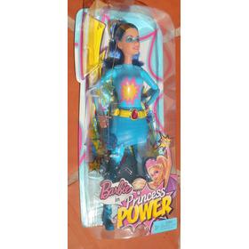 Muñeca De Accion Barbie Ice Super Hero