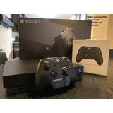 Nueva Consola Microsoft Xbox One X 1tb Negra - Controlador A