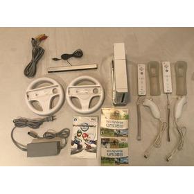 Consola De Videojuegos Wii Y Accesorios Juegos