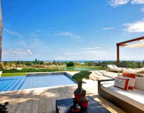 Villa De 8 Dorm. Vista Frontal Al Oceano. Cap Cana