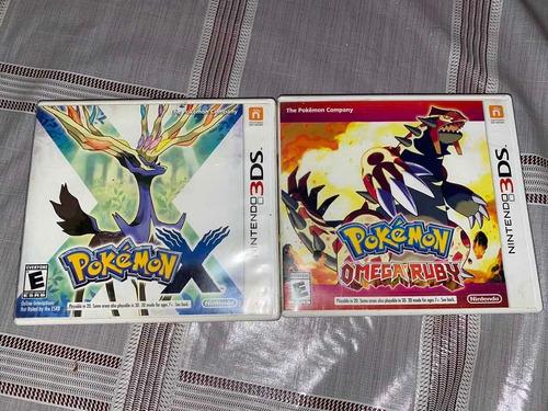 Pokémon (x Y Omega Ruby) 3ds