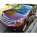 Honda Cr-v Ex Full 4x4 Roja Importada 13