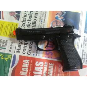 Pistola De Fogueo Tipo Beretta