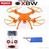 Drone Syma X8w Wifi Fpv Nuevo En Su Caja