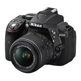 Camara Nikon D5300 Con Lente 18-55mm Vr Dslr Reflex Nueva
