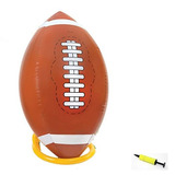 Futbol Inflable Gigante De 4 Pies Con T Y Bomba - Jumbo Parq