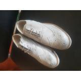 Zapato En Piel Italiano Talla 39