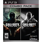 Ps3 Combo Pack Call Of Duty Black Ops Y Black Ops 2