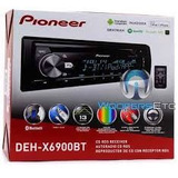 Radio Pioneer Deh-x6900bt Con Bluetooth Cd