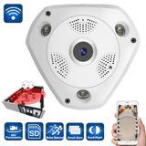 Camara De Seguridad Vr Wifi 360 Vision Nocturna Audio