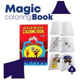 Truco De Magia-libro Para Colorear magic Coloring Book