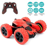 Amicool Rc Cars Stunt Car Toy, 4wd 2.4ghz Control Remoto Coc