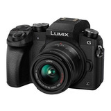 Camara Panasonic Lumix G7 Video 4k Lente 14-42mm Mega Ois