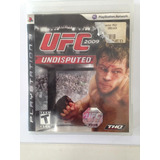 Ufc Undisputed Playstation 3 Ps3