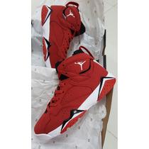Tenis Jordan Retro 7 Lava Volcánica 2k18
