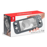 Nintendo Switch Lite Color Gris Consola Portatil De Juegos