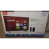 Smart Roku Tcl Tv  43 Pulgadas Class Led  1080p 4k