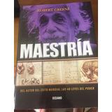 Libro Llamado Maestría, Del Famoso Autor Robert Greene.