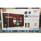 Tv Smart Roku Tcl 55 Pulgs. 4k Wifi Nuevas