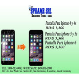 Gran Oferta De Pantallas Para Iphone 4g,4s,5g,5s(inst.inclu)