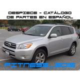 Manual Despiece Catalogo Toyota Rav4 2005 - 2012 Español
