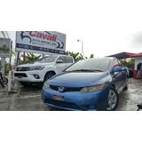 Honda Civic Lx Coupe Azul 2006