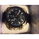 Reloj Diesel Bamf Dorado