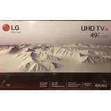 Televisor Lg 49 Class Uhd Active Hdr 4k (2160p) Smart Led Tv