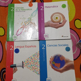 Libros Escolares 2do De Secundarias