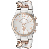 Reloj Polo .u.s. Assn  Usc40176 Para Mujer Original